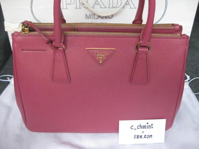 New Prada Saffiano Lux size 25 & 30