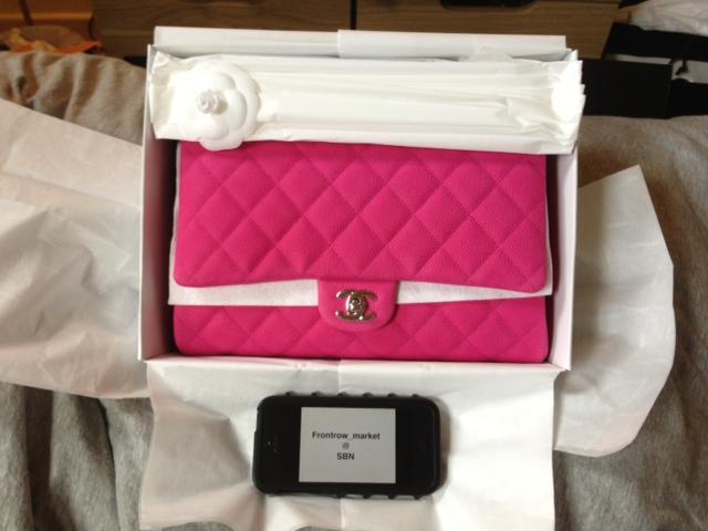 Chanel Clutch Bag Pink Chanel Clutch Hot Pink Caviar